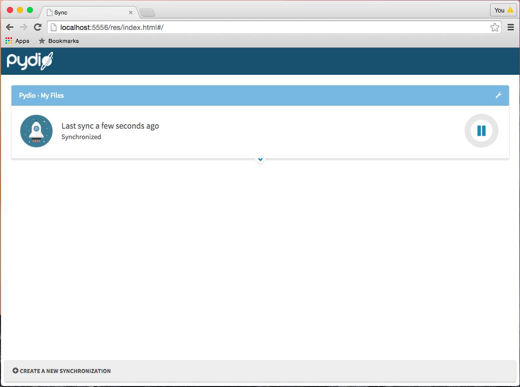 PydioSync Desktop App | Pydio